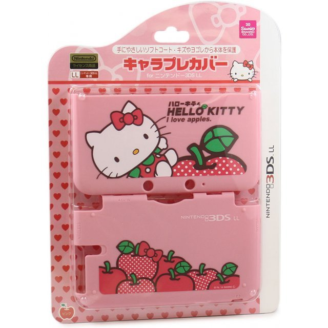Chare Pure Cover for 3DS LL [Hello Kitty Pink]