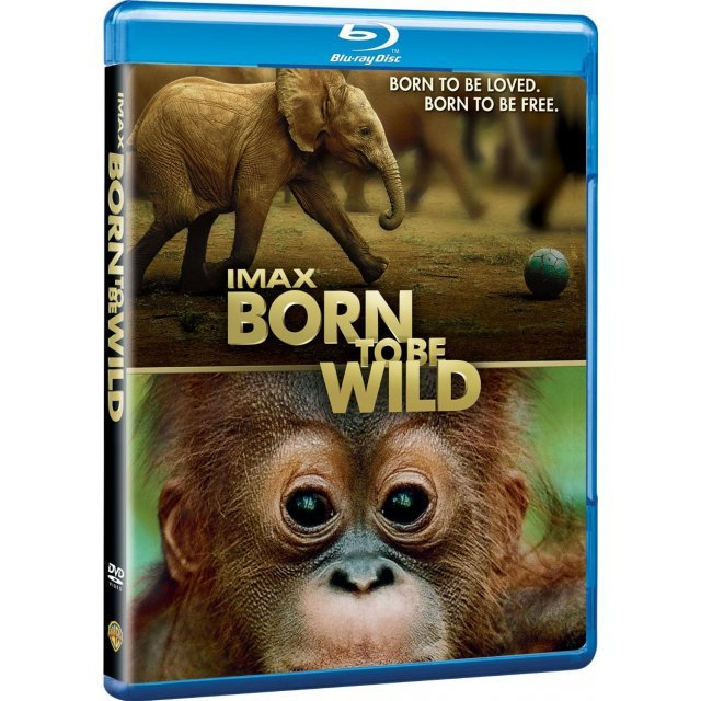 IMAX: Born to Be Wild 3D [Blu-ray 3D+Blu-ray]