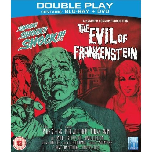 The Evil Of Frankenstein [Blu Ray+DVD]