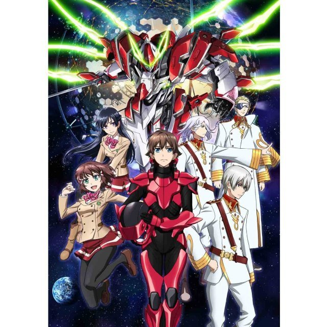 Valvrave The Liberator / Kakumeiki Valvrave Vol.5 [DVD+CD Limited Edition]