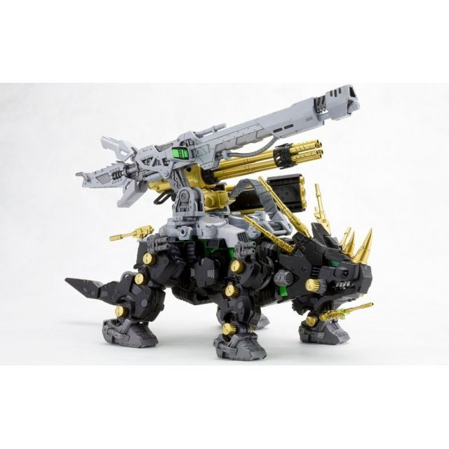 Zoids HMM 1/72 Scale Pre-Painted Plastic Model Kit: Dark Horn Harry Special (Re-run)