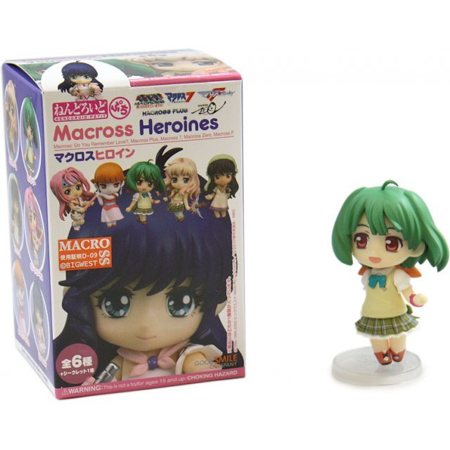 Nendoroid Petite Non Scale Pre-Painted PVC Figure: Macross (Random Single)