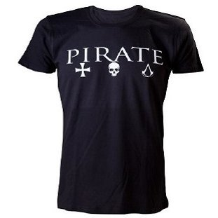 Ubisoft Assassin's Creed IV: Black Flag - Crewneck Pirate Male Shirt (XXL)