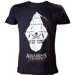 Ubisoft Assassin's Creed IV: Black Flag - Crewneck Pirate Ship Male Shirt (XL)