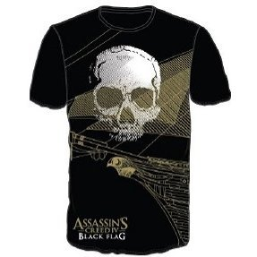 Ubisoft Assassin's Creed IV: Black Flag - Logo Skull Men's Tee (L)