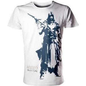 Ubisoft Assassin's Creed IV: Black Flag - Tabai White Men's Tee (L)