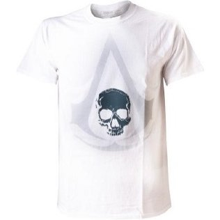 Ubisoft Assassin's Creed IV: Black Flag - White Crest Symbol Men's Tee (XL)