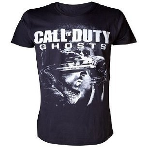 Activision Call of Duty: Ghosts - Soldier and Logo Men's tee (XL)