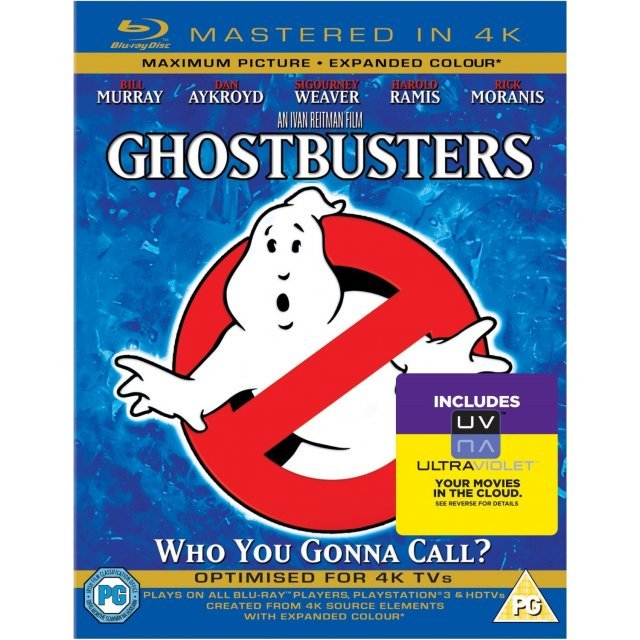 Ghostbusters [Mastered in 4K/Blu-ray+UltraViolet]