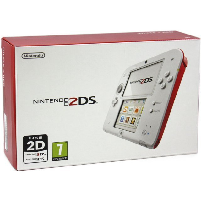 Nintendo 2DS (Red/White)