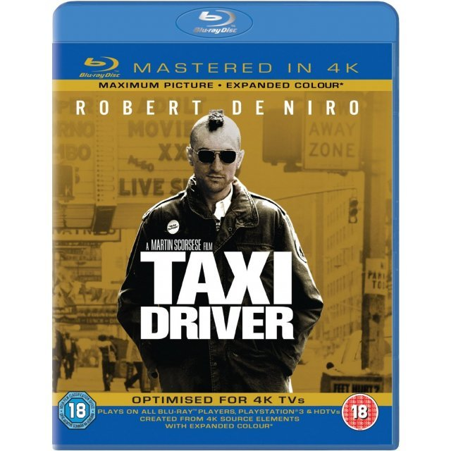 Taxi Driver [Mastered in 4K/Blu-ray+UltraViolet]