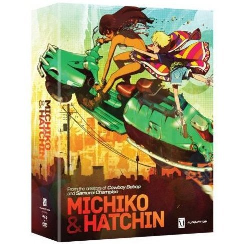 Michiko to Hatchin: Part One (Limited Edition) [Bluray+DVD]