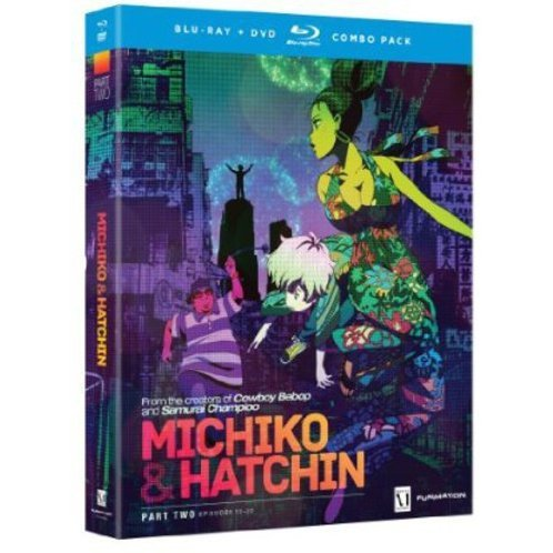 Michiko to Hatchin: Part Two (Episodes 12-22) [Bluray+DvD]