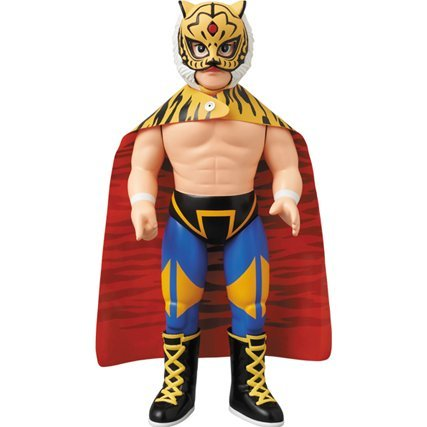 Sofubi Fighting Series Sofubi Figure: Shodai Tiger Mask
