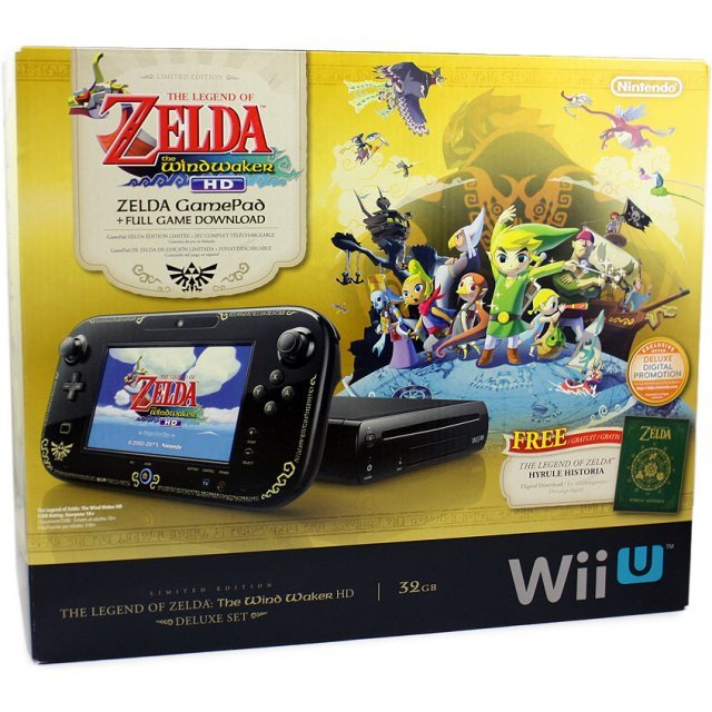 The Legend of Zelda: The Wind Waker HD Limited Edition Bundle