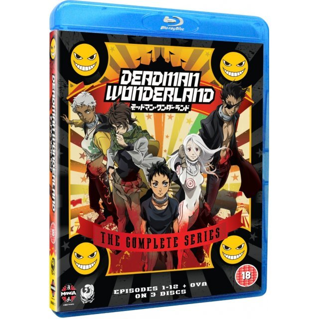 Deadman Wonderland: The Complete Series Collection