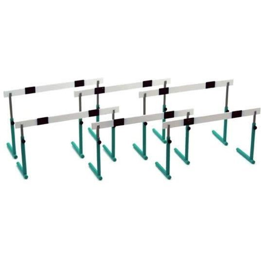 1:12 Scale School Equipment Series 1/12 Scale Pre-Painted Plastic Model Train: GK-04 Hurdle Green
