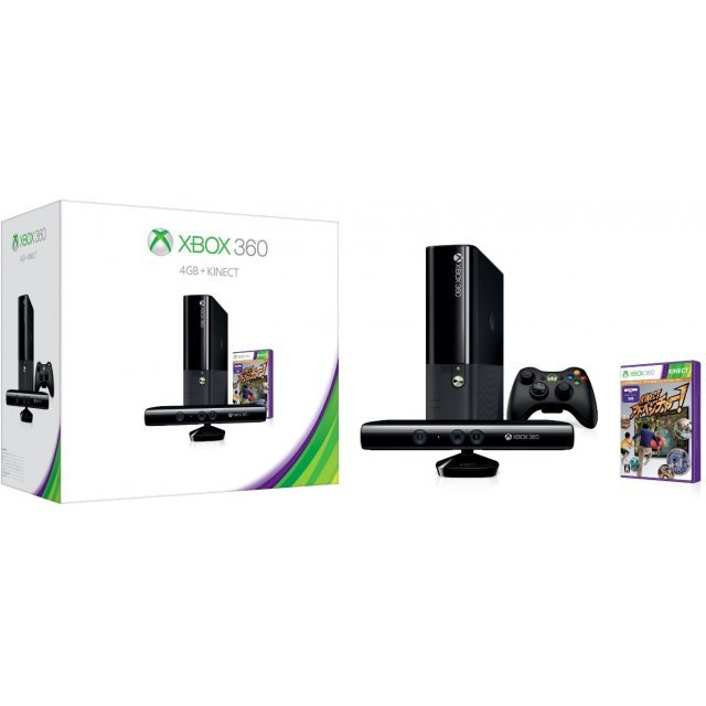 Xbox 360 Console (4GB) + Kinect