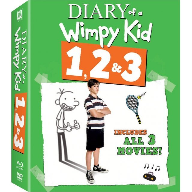 Diary of a Wimpy Kid 1,2&3