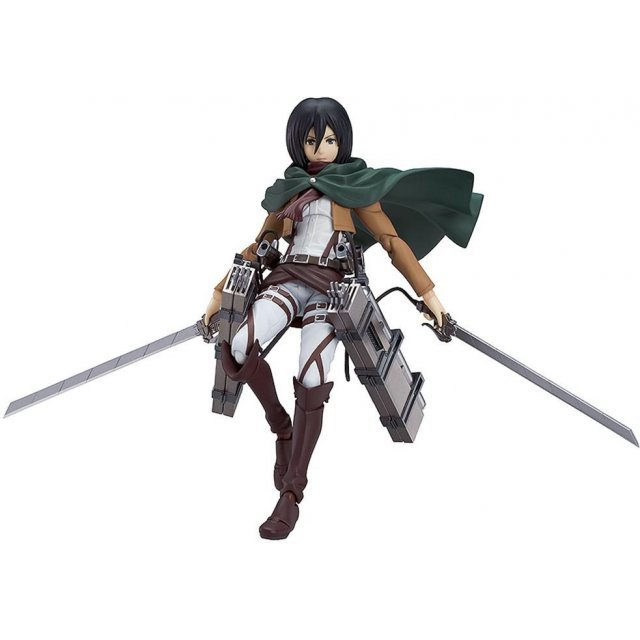 Figma Attack on Titan Non Scale Pre-Painted PVC Figure: Mikasa Ackerman