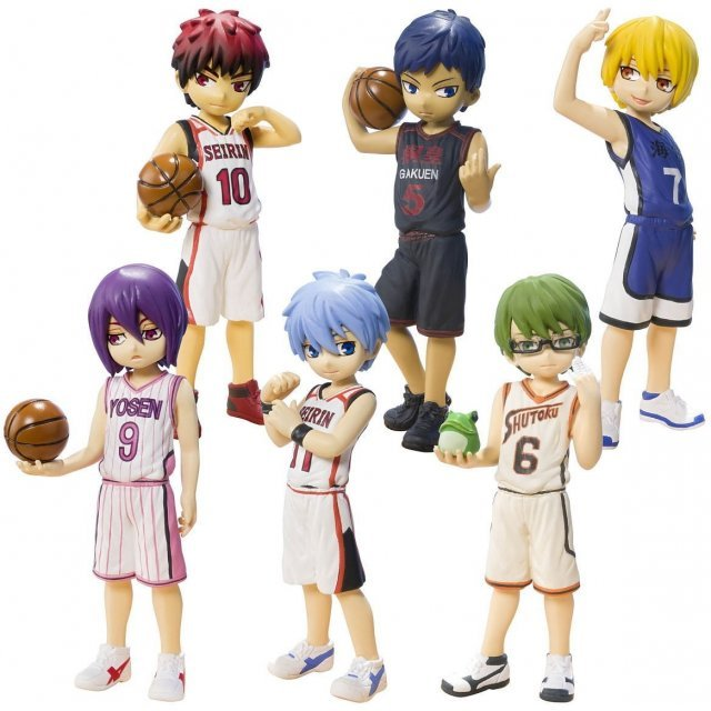 Half Age Characters Kuroko's Basketball [Generation of Miracle] (Set of 6 pieces)