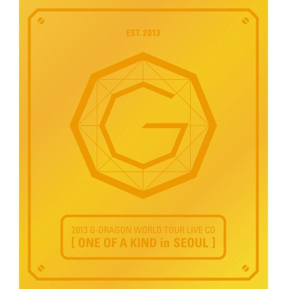 2013 G-Dragon World Tour Live CD: One Of A Kind in Seoul [Gold Edition]