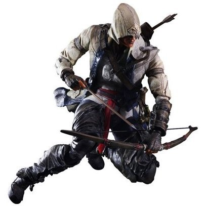 Assassin's Creed III Play Arts Kai Non Scale Pre-Painted Action Figure: Kai Connor