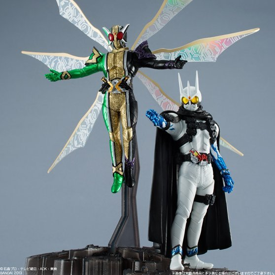 HDM Kamen Rider: Kamen Rider Eternal and Kamen Rider Joker