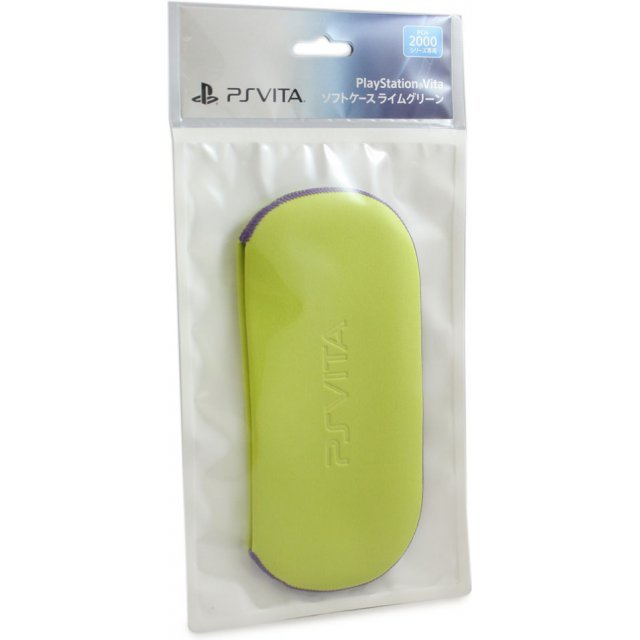 PlayStation Vita Soft Case for New Slim Model PCH-2000 (Lime Green)