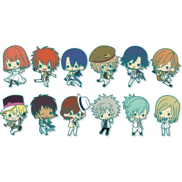 Uta no Prince-sama: Maji Love 2000% Rubber Strap Collection (Set of 12 pieces)