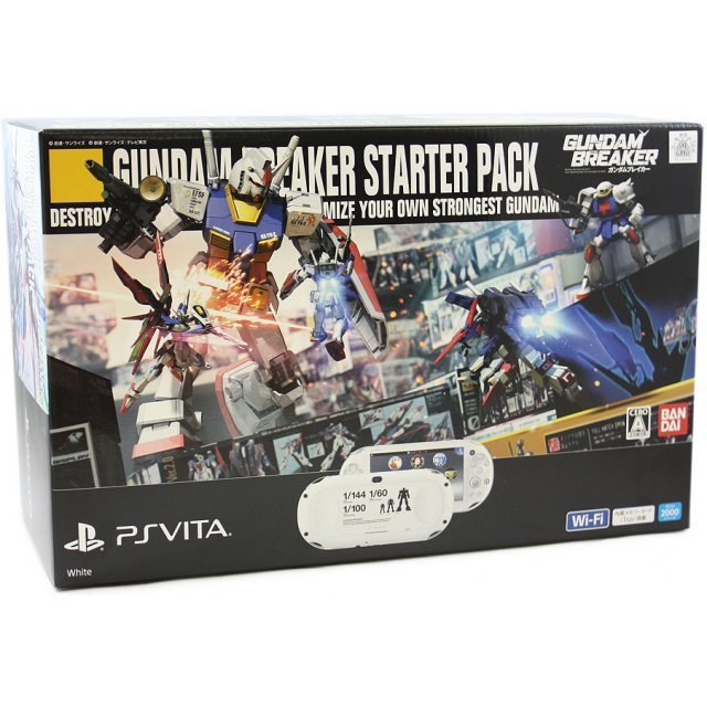 PS Vita PlayStation Vita New Slim Model - PCH-2000 [Gundam Breaker Starter Pack]