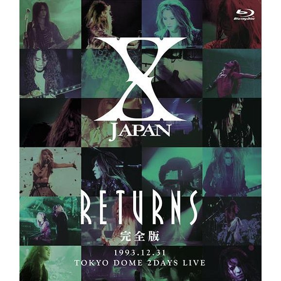 X Japan Returns Kanzen Ban 1993.12.31