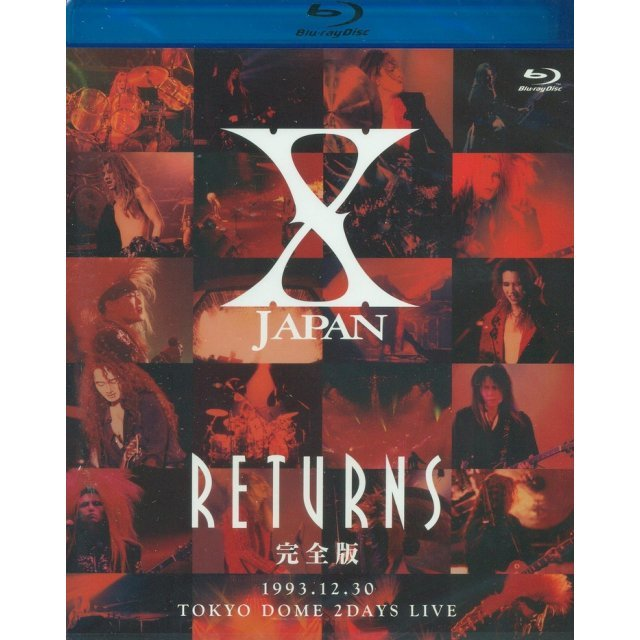 X Japan Returns Kanzen Ban 1993.12.30