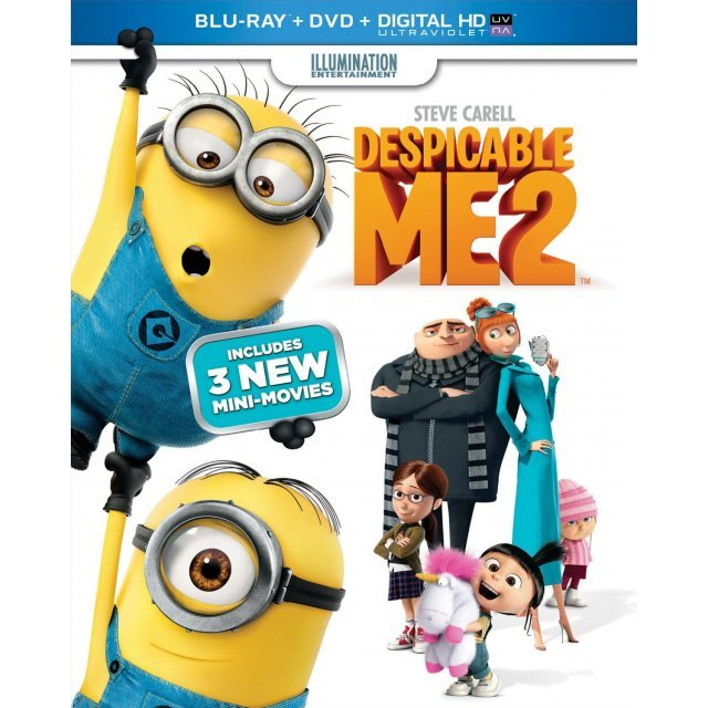 Despicable Me 2 [Blu-ray+DVD+Digital Copy]
