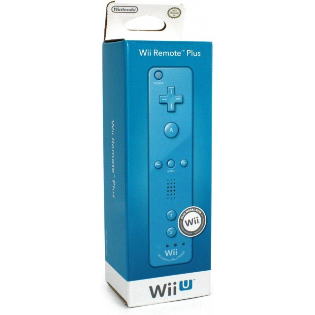 Wii U Remote Plus Control (Blue)