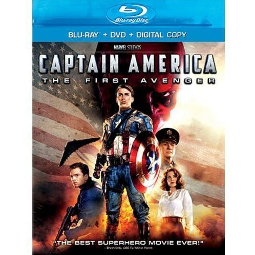 Captain America: The First Avenger [Blu-ray+DVD+Digital Copy]