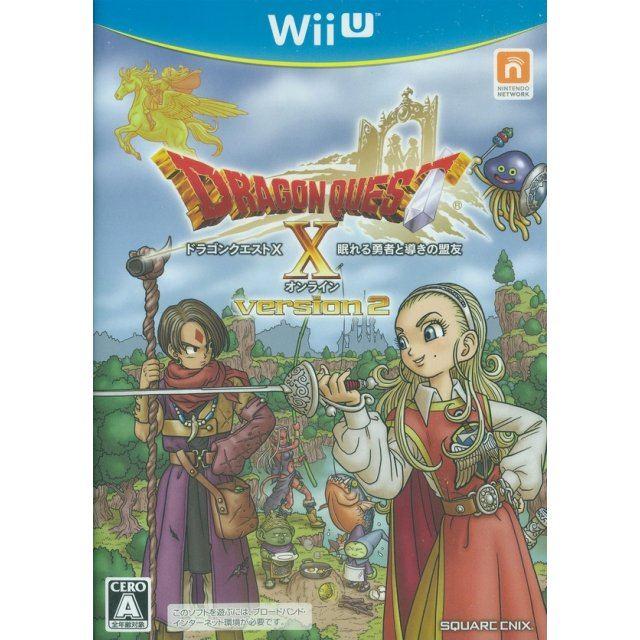 Dragon Quest X Nemureru Yuusha to Michibiki no Meiyuu Online