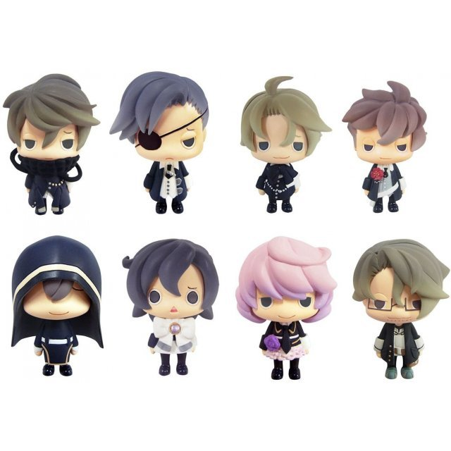 Color Collection Hanaawase Non Scale Pre-Painted PVC Trading Figure (Set of 8 pieces)