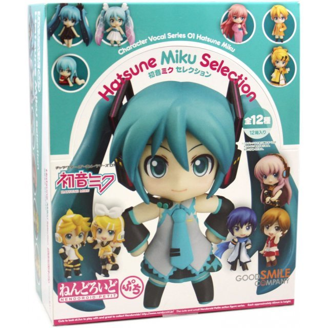 Nendoroid Petite Character Vocal Series Non Scale Pre-Painted Trading Figure: Hatsune Miku Selection (Set of 12 pieces)
