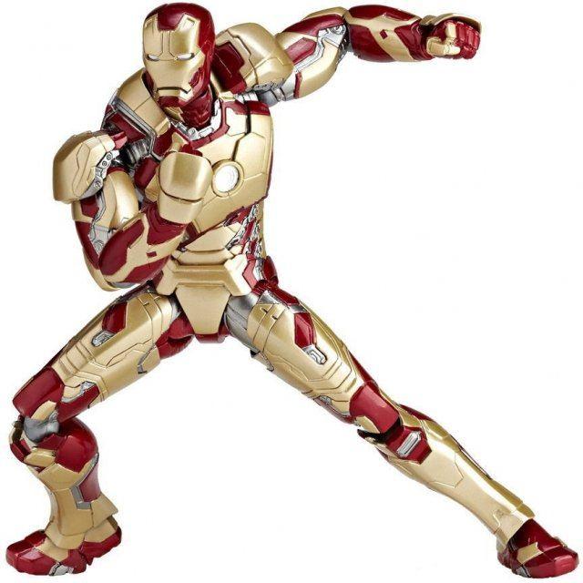 SCI-FI Revoltech Series No.049 Iron Man: Iron Man Mark 42 (Re-run)