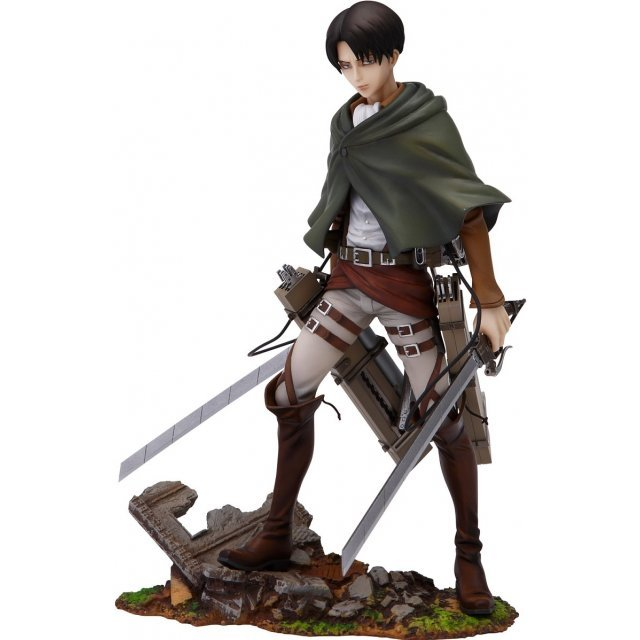 Attack on Titan 1/8 Scale Pre-Painted PVC Figure: Levi (Re-run)