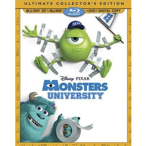 Monsters University 3D [Ultimate Collector's Edition]