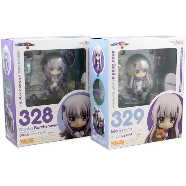 Nendoroid Muv-Luv Alternative Total Eclipse: Cryska Barchenowa + Inia Sestina (Bundle Set)