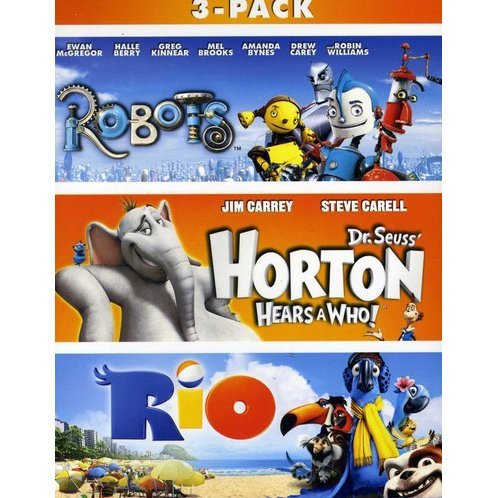 Robots / Horton Hears A Who / Rio