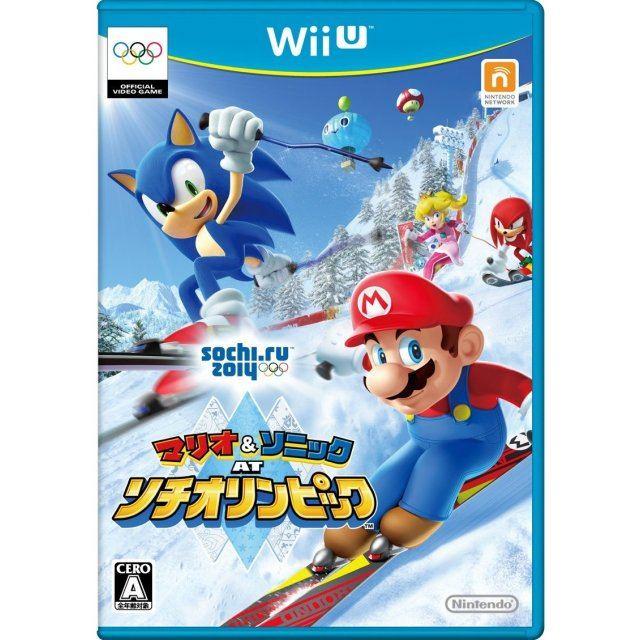 Mario & Sonic at Sochi Olympic