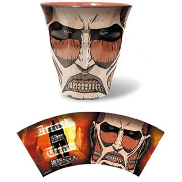 Attack on Titan Melamine Cup: 03 Colossus Titan ML