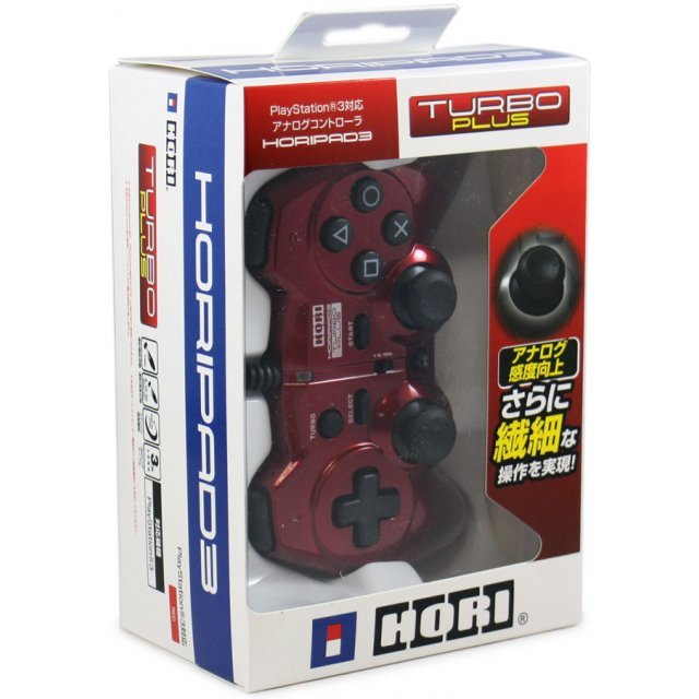 Hori Pad 3 Turbo Plus (Red)