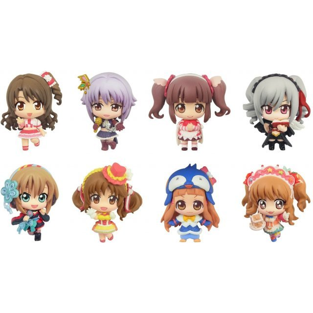 Color Collection The Idolmaster Cinderella Girls Non Scale Pre-Painted PVC Trading Figure (Set of 8 pieces)