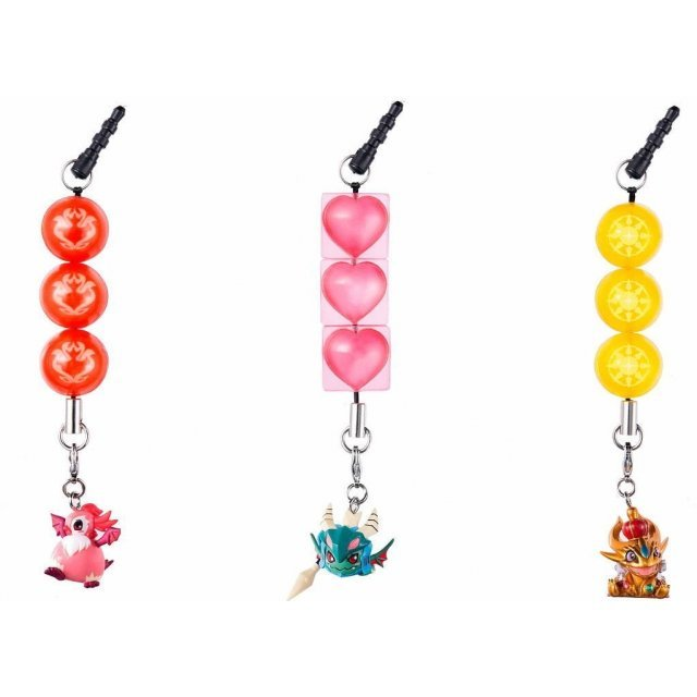 Earphone Jack: Puzzle & Dragons Vol.2 (Set of 10 pieces)