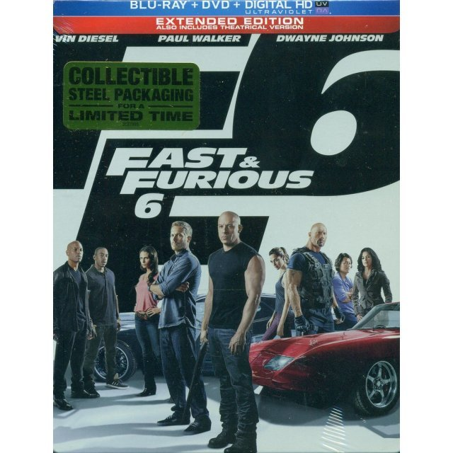 Fast & Furious 6 [Limited Edition SteelBook]
